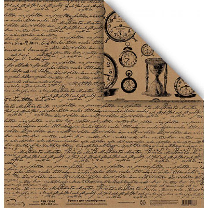 Бумага 1310-6, коллекция Крафт для скрапбукинга