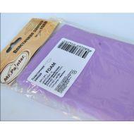Фиолетовая пластичная замша