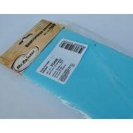 Голубая пластичная замша