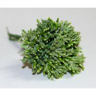 Зеленый декоративный букетик