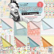 Набор бумаги Happy Days
