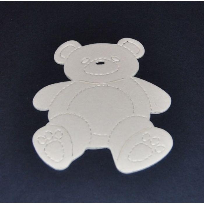 Набор вырубных элементов Мишка Тедди для скрапбукинга