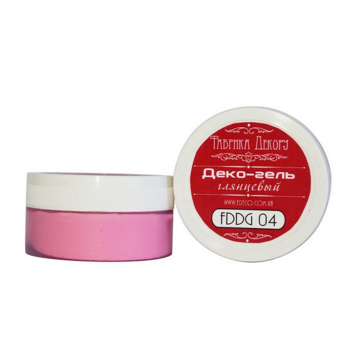 Деко-гель глянцевый розовые мечты для скрапбукинга