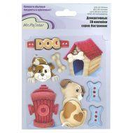 3-D наклейки Любимый щеночек, коллекция Настроение
