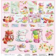 Бумага Сладости, коллекция Полуденный чай