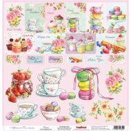 Бумага Сладости, коллекция Полуденный чай, англ.