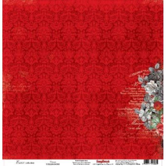 Бумага Венера, коллекция Элегия для скрапбукинга