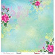 Бумага Французский узелок, коллекция Цветочная вышивка