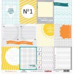 Бумага Летние карточки 2, коллекция Это лето