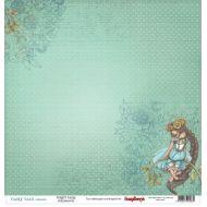 Бумага Лесная фея, коллекция Сказка про Фей