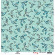 Бумага Птицы, коллекция Сказка про Фей