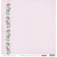 Бумага Ирисы цветут, коллекция Волшебная страна