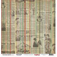 Бумага Звезды цирка, коллекция Старый цирк