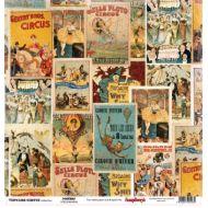 Бумага Афиши, коллекция Старый цирк