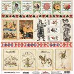 Бумага Клоунада, коллекция Старый цирк