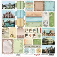 Бумага Белла Италиа, коллекция Итальянские каникулы