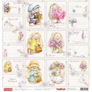 Бумага Карточки 1, коллекция Летняя Радость