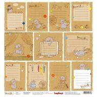 Бумага Карточки 1, коллекция Басик