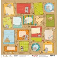 Бумага Карточки 2, коллекция Басик