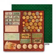 Бумага Монеты, коллекция Настоящий мужчина