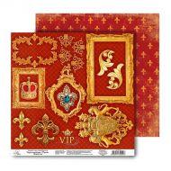 Бумага Роскошь, коллекция Королевский шик