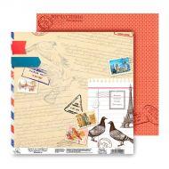 Бумага Почтовые голуби, коллекция Я к Вам пишу