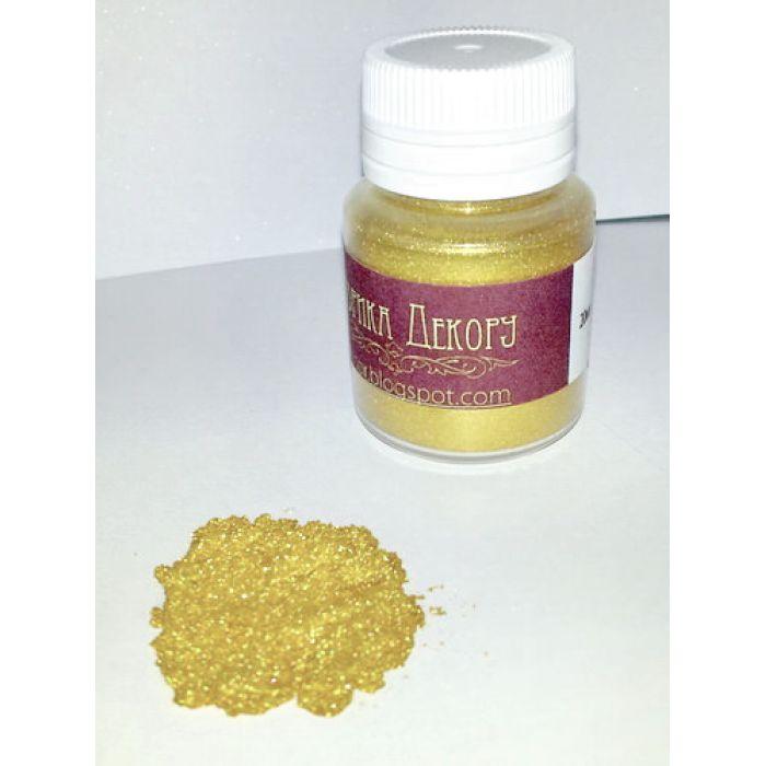 Перламутровая пудра золотая для скрапбукинга