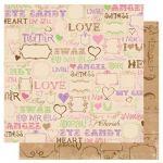 Бумага Love Spell, коллекция Smoochable