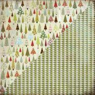 Бумага Forest, коллекция Figgy Pudding