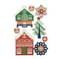 3-D наклейки, коллекция Nordic Holiday