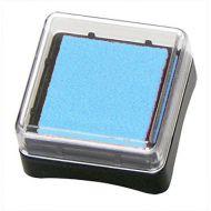 """Штемпельная подушечка """"Inc Pads mini"""", цвет - голубой."""