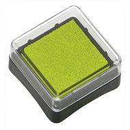 Штемпельная подушечка зелёная
