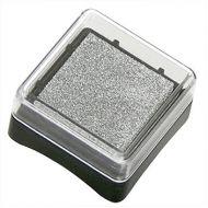 Штемпельная подушечка серебро