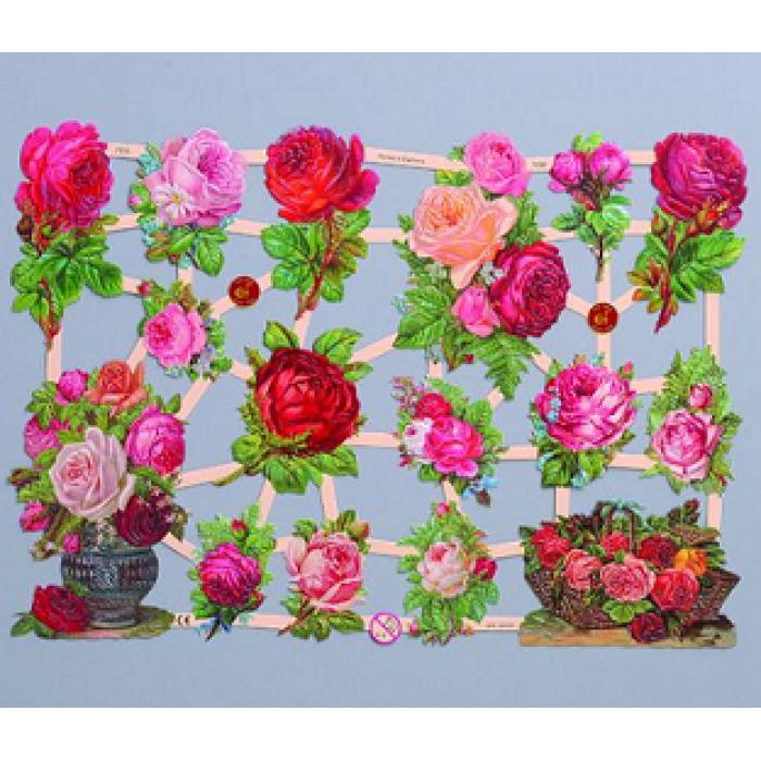 """Миниатюрное изображение для скрапбукинга """"Благородные розы"""" для скрапбукинга"""