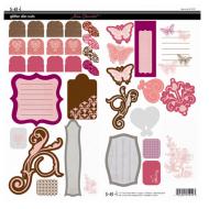 Набор вырубок, коллекция Chocolat