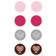 Набор брадс chocolat (шоколад)