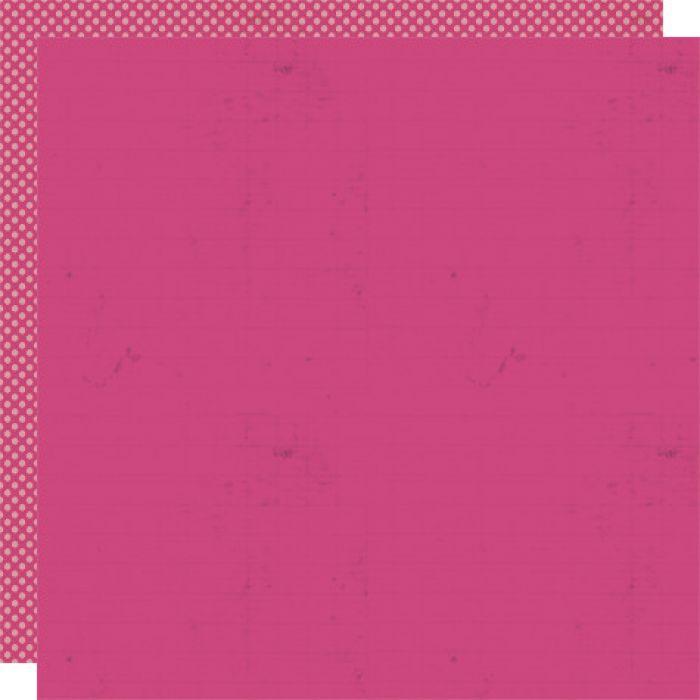 Бумага Raspberry, коллекция Lily Bee Stationery для скрапбукинга