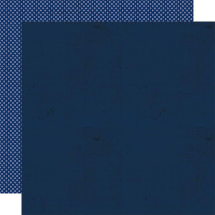 Бумага Blueberry, коллекция Double Dutch для скрапбукинга