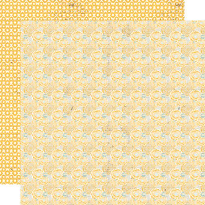 Бумага Blossom, коллекция Buttercup для скрапбукинга