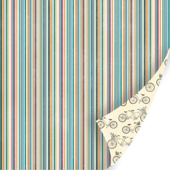 Бумага Petunia Lane, коллекция  Vanilla Sunshine для скрапбукинга