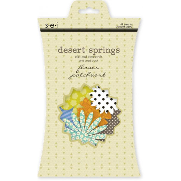 Набор вырубок, коллекция Desert Springs для скрапбукинга