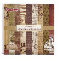Набор бумаги механические иллюзии 15 х 15 см