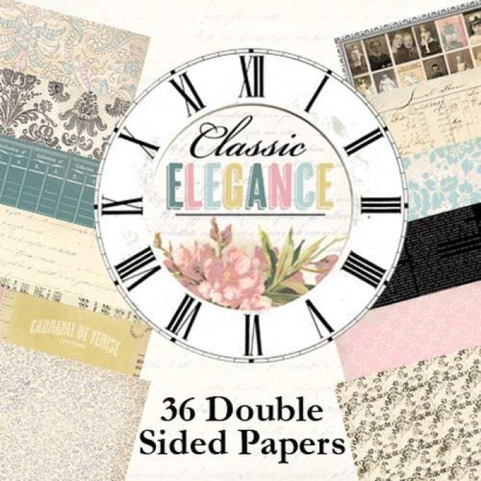 Набор бумаги Classic Elegance, 15 х 15 см для скрапбукинга