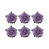 Цветы чайной розы фиолетовые