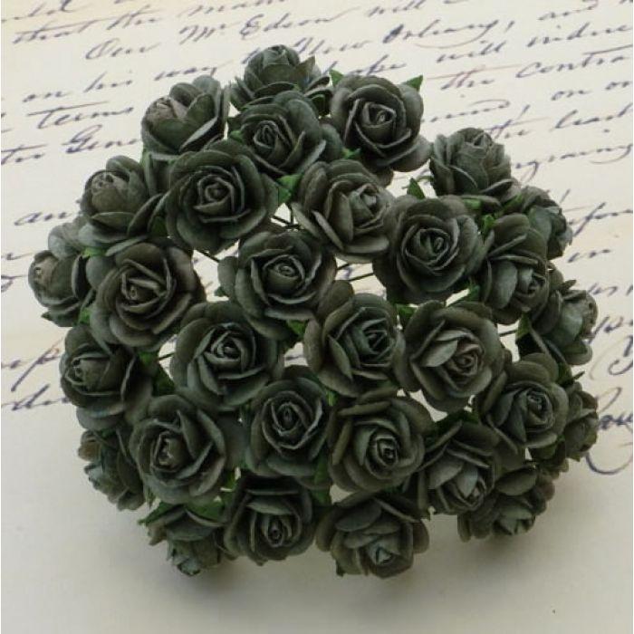 Розы оливковые, 10 мм для скрапбукинга