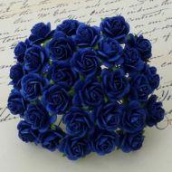 Розы ярко-синие, 25 мм