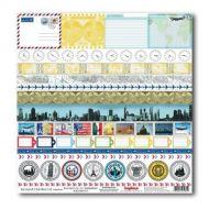 Бумага Сувениры на память, коллекция Вокруг Света