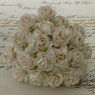 Роза дикая цвета слоновой кости, 30 мм