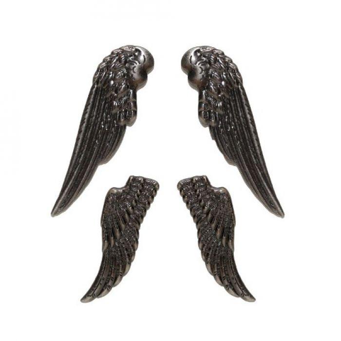Набор ангельских крыльев, серебро для скрапбукинга