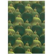 Веллум новогодние шары цвета еловых иголок